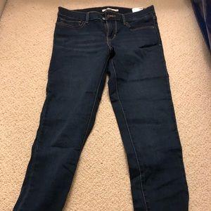 Super skinny Levi jeans